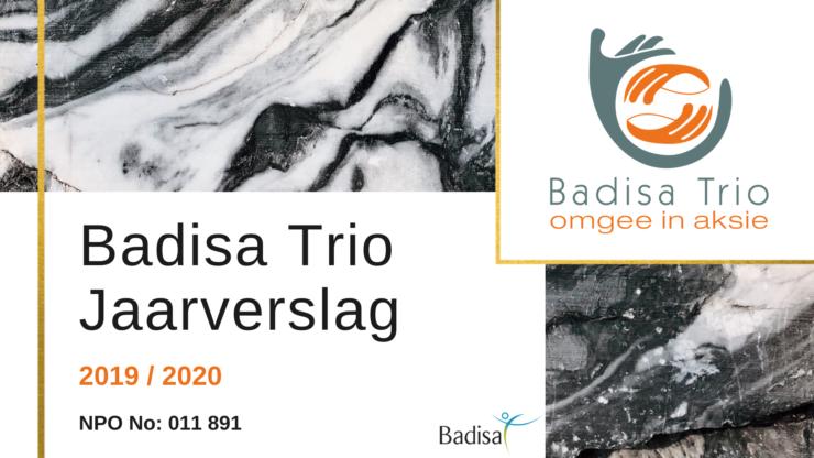 Badisa Trio Jaarverslag 2020